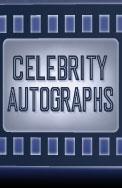 celebrity autograph
